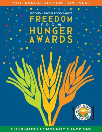 SHFB-award program v7.indd - Second Harvest Food Bank