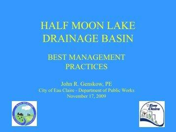 HALF MOON LAKE ADVISORY TASK FORCE