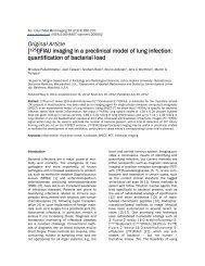 FIAU imaging in a preclinical model of lung infection - American ...