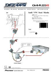 CA-R-PI.221V2 Audi / VW / Seat / Skoda PEE2032