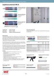 Injektionsmörtel VM-K - MKT Metall-Kunststoff-Technik GmbH & Co ...