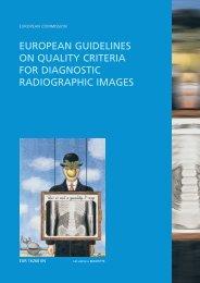 european guidelines on quality criteria for diagnostic ... - CORDIS