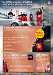 Wir sorgen dafür, dass  der  Herbst iHnen seine ... - Automobile Müller