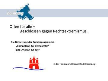 Vortrag der Stadt Hamburg - respectABel