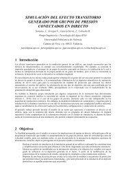 Comunicación - Ingeniería del Agua