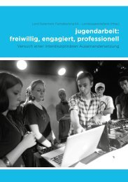 Buch jugendarbeit:freiwillig, engagiert, professionell