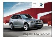 Original BMW Zubehör X3