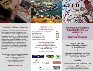 & MINDSCAPES 2008 - Society for the Arts in Dementia Care