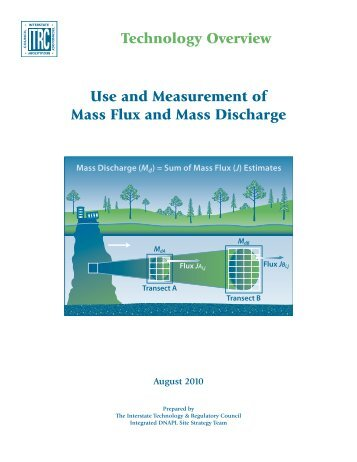 Use and Measurement of Mass Flux and Mass Discharge - ITRC