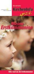 Erstkommunion - Pfarre St. Josef in der Weststeiermark - Diözese ...
