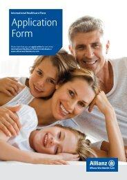 Application Form - Johoinsurances.com