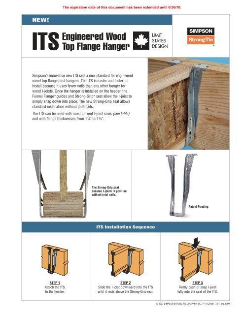 IUS1.81//11.88 Simpson Strong-Tie IUS Face Mount I-Joist Hanger