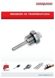 Opuscolo Sensori di temperatura Italiano - Tasseron