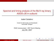 Spectral and timing analysis of the Be/X-ray binary A0535+26 in ...