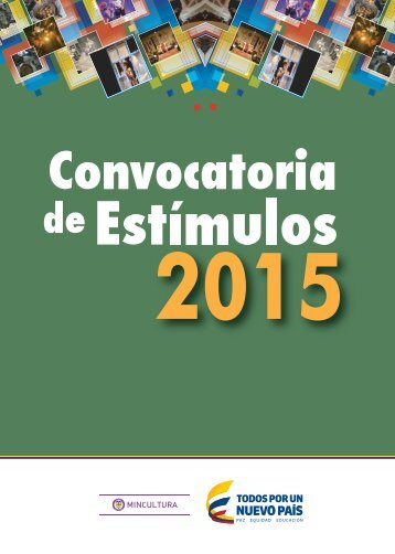 Convocatoria de Estímulos 2015