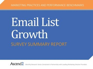 Ascend2-Email-List-Growth-Survey-Summary-Report
