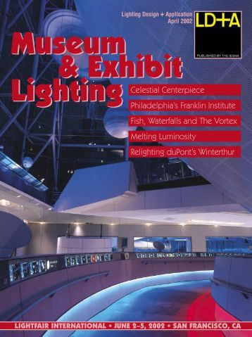 Lighting Celestial Centerpiece Philadelphia's Franklin Institute Fish ...