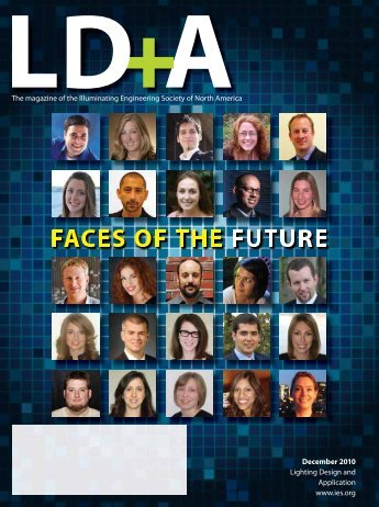faces of the future - Illuminating Engineering Society
