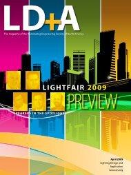 LIGHTFAIR 2009 - Illuminating Engineering Society