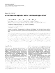New Trends on Ubiquitous Mobile Multimedia Applications - NetGNA