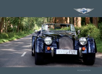 THE MORGAN ROADSTER - The Morgan Motor Company