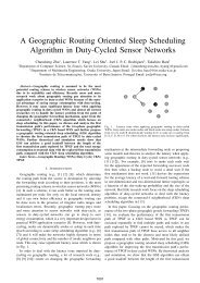A Geographic Routing Oriented Sleep Scheduling ... - NetGNA