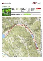 3 Seen Tour - Nockbike, Bike Portal für die Region Nockberge