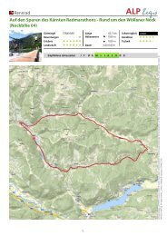 Nockbike 04 - Nockbike, Bike Portal für die Region Nockberge