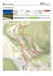 21 Klamberg-Tour - Nockbike, Bike Portal für die Region Nockberge
