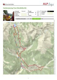 Mountainbike Gurkursprung-Tour (Nockbike 06) - Nockbike, Bike ...
