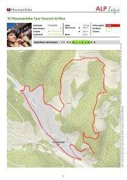 Mountainbike 35 Mountainbike-Tour Deutsch Griffen