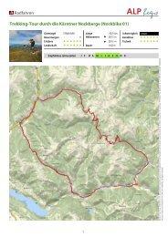Radfahren Trekking-Tour durch die Kärntner Nockberge (Nockbike 01)