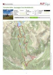 Mountainbike Turracher Höhe - Saureggen Tour (Nockbike 05)