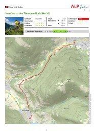 Mountainbike Vom See zu den Thermen (Nockbike 10)