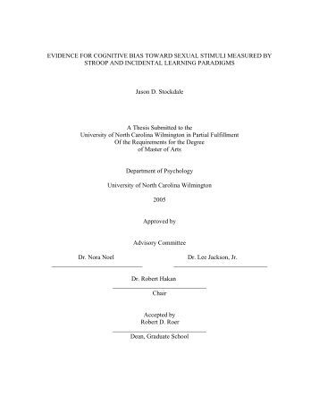 University of illinois thesis abstracts