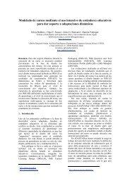 Modelado de cursos mediante el uso intensivo de ... - aDeNu - UNED