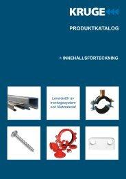 Produktkatalog - Kruge Sverige AB