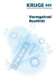 Varmgalvat/ Rostfritt - Kruge Sverige AB