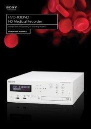 HVO-1000MD HD Medical Recorder - Alphatron Medical Systems BV