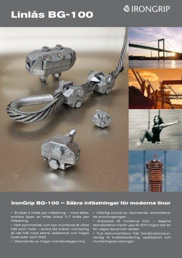 BG-100 SV pb.pdf - IronGrip