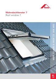 Roto 7 H/K serijos stoglangių, stogo langų ... - Stogdengiai.lt