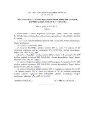 dėl statybos techninio reglamento str 2. konstrukcijos - Stogdengiai.lt