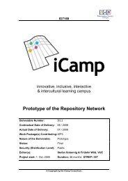 Deliverable 3.2 - iCamp