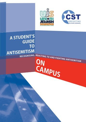 Student's Guide to Antisemitism - Community Security Trust