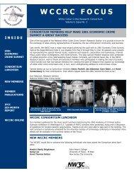 Summer 2001 - National White Collar Crime Center