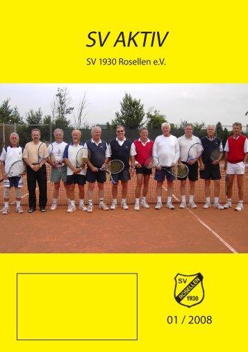 Ausgabe 1/2008 - Freizeitsport - SV Rosellen