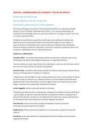 FESTIVAL INTERNACIONAL DE CLARINETE ... - Eurochestries