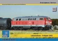 Lokomotiven - Frühjahr 2012 - ESU