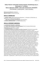 Kalisz: Remont i kolorystyka elewacji budynku mieszkalnego przy ul ...