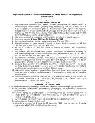 "Regulamin Promocji ""Rolety zewnętrzne do okien VELUX z ..."